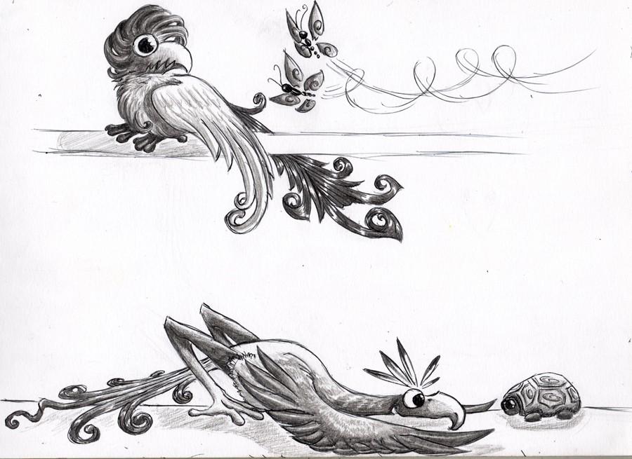 Dragons, chimères et créatures arc-en-ciel - Page 8 Les_pi11