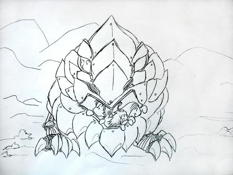 Dragons, chimères et créatures arc-en-ciel - Page 8 Peuple11
