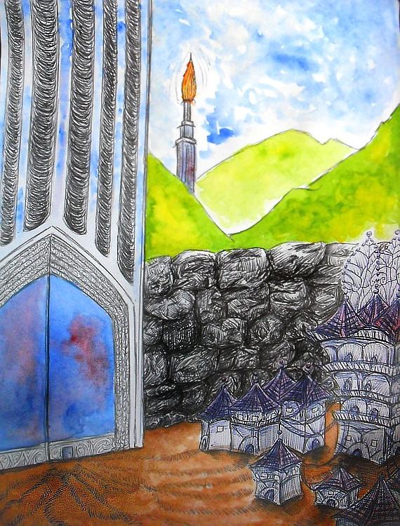 Dragons, chimères et créatures arc-en-ciel - Page 8 Villag10