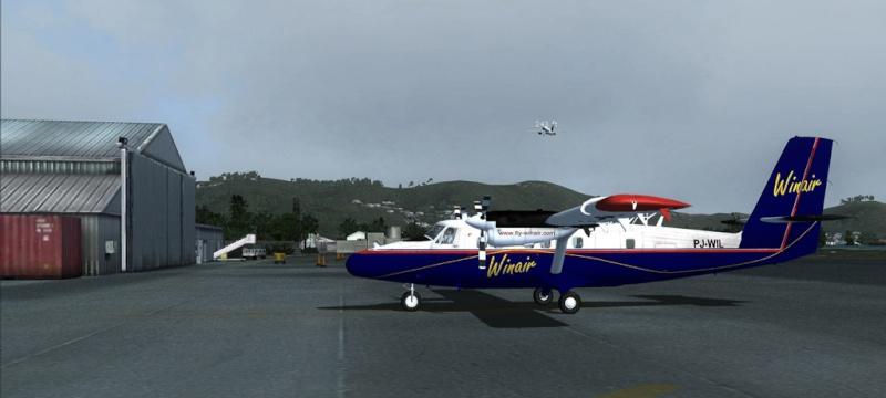 Erstflug mit der Twin Otter Ca-20113