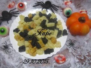 Pâtes Halloween au beurre. 12195812