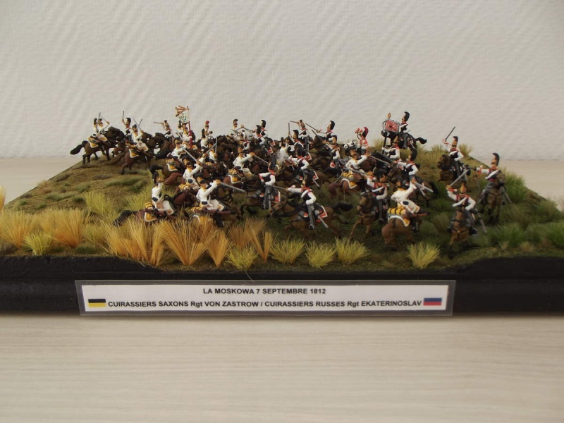 Cuirassiers Saxons / Cuirassiers Russes ...La Moskova/Borodino 1812  S_et_r10