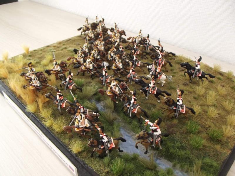 Cuirassiers Saxons / Cuirassiers Russes ...La Moskova/Borodino 1812  S_et_r11