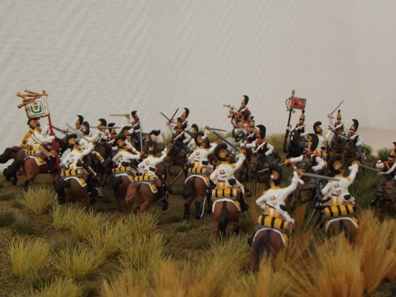 Cuirassiers Saxons / Cuirassiers Russes ...La Moskova/Borodino 1812  S_et_r12
