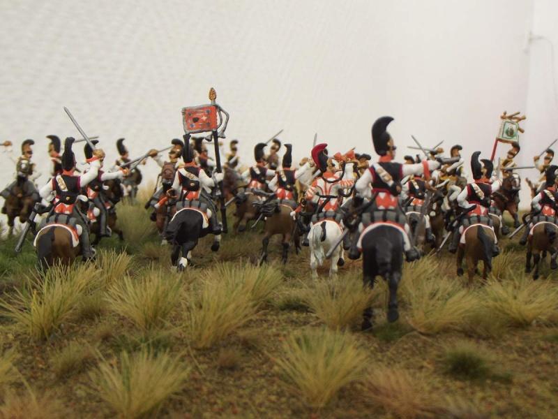 Cuirassiers Saxons / Cuirassiers Russes ...La Moskova/Borodino 1812  S_et_r13