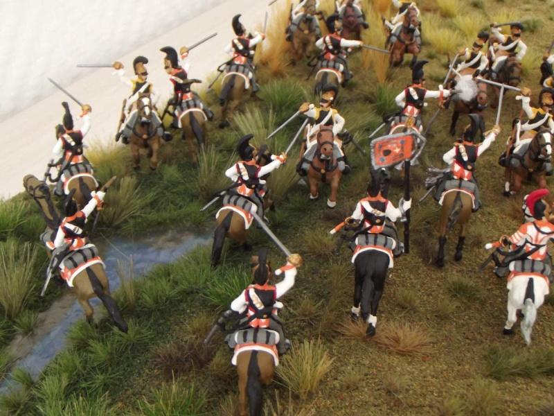 Cuirassiers Saxons / Cuirassiers Russes ...La Moskova/Borodino 1812  S_et_r15