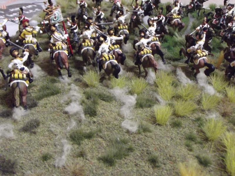 Cuirassiers Saxons / Cuirassiers Russes ...La Moskova/Borodino 1812  V10