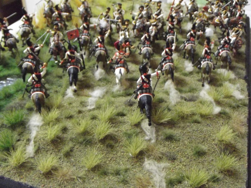Cuirassiers Saxons / Cuirassiers Russes ...La Moskova/Borodino 1812  X10
