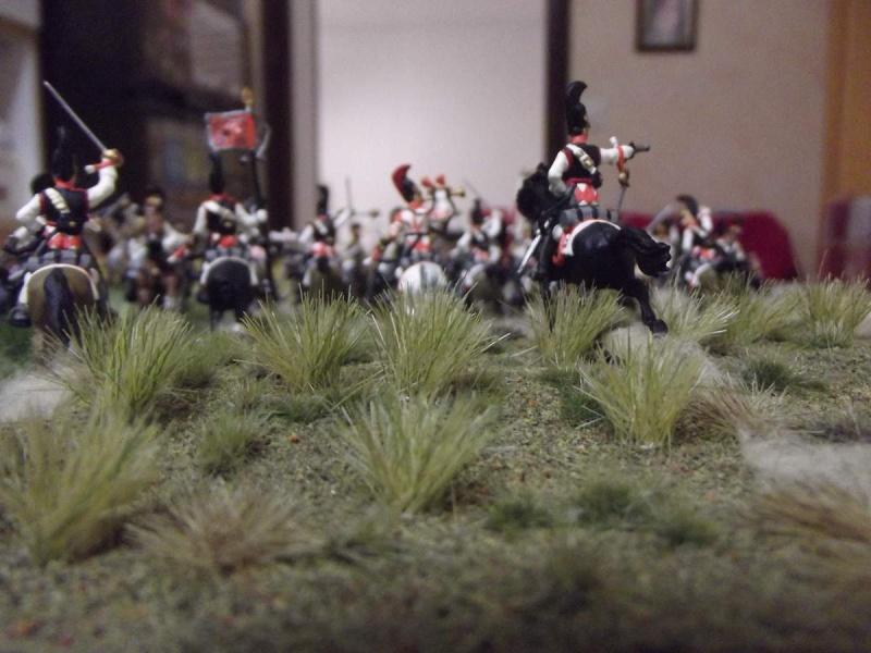 Cuirassiers Saxons / Cuirassiers Russes ...La Moskova/Borodino 1812  Z10