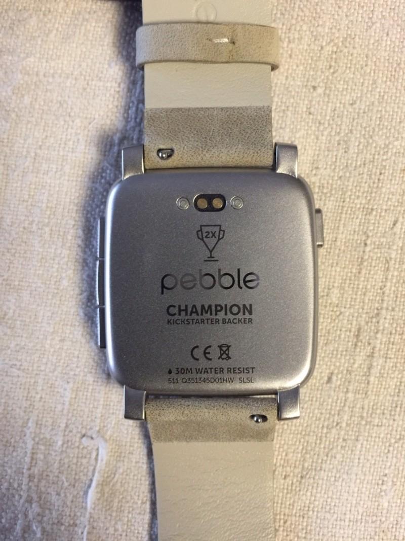Pebble time steel - Revue photo Img_4615