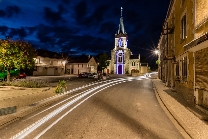 Mise en lumière de l'église de Bué 15092114