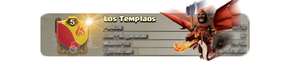 Clash of Clans - Clan Los Templaos