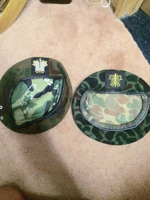 Couple of South Korean berets Image40