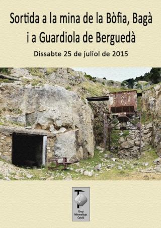 """RESSENYA sortida dissabte 25-07-15 mina """"La Bòfia"""" i jacints del riu Bastareny (Berguedà, Barcelona) Sortid11"""
