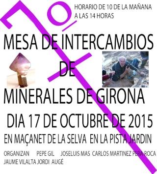 7ª Taula d'intercanvi de minerals de Girona a Maçanet de la Selva T_7_me10