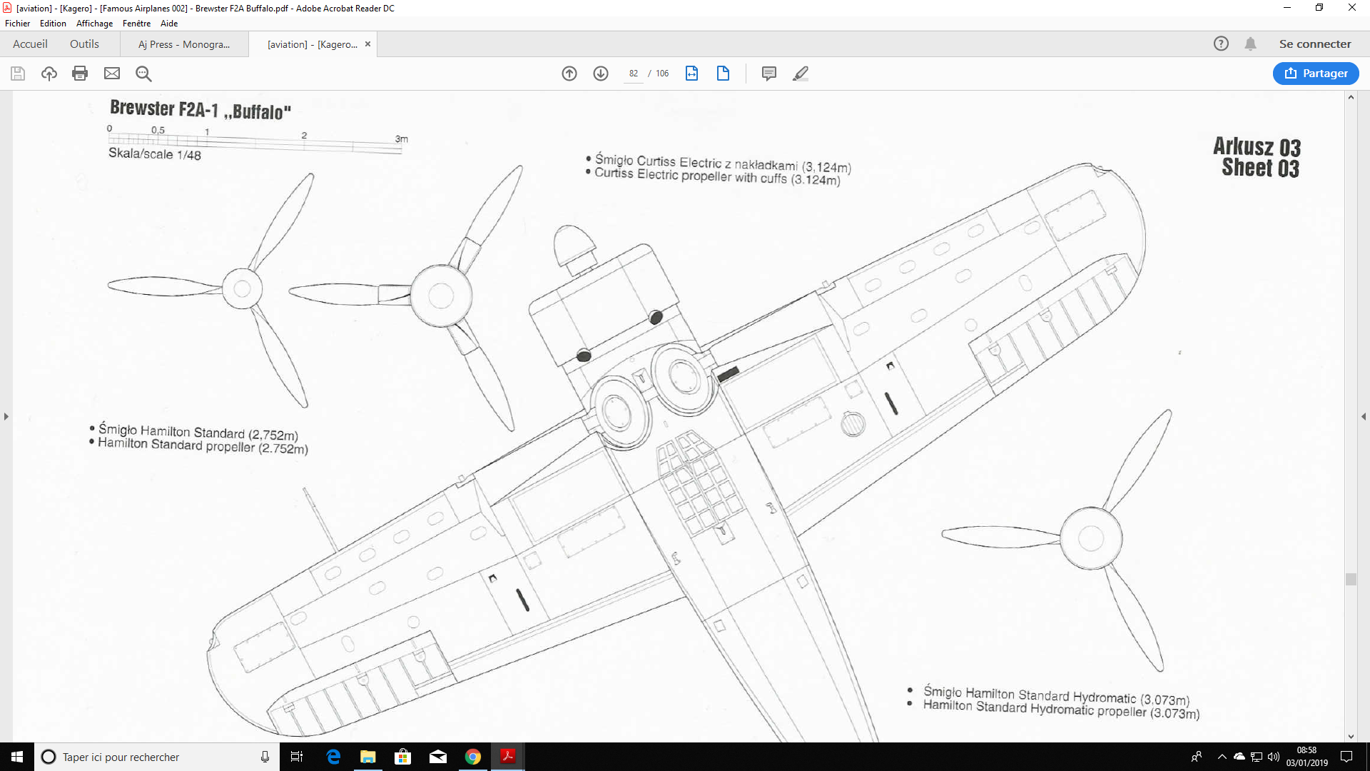 [Année AZUR] Brewster F2A-1 Buffalo Spécial Hobby 1:32 - Page 2 Captur37