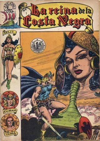 Portadas de las colecciones diversas de Conan Joma_l10