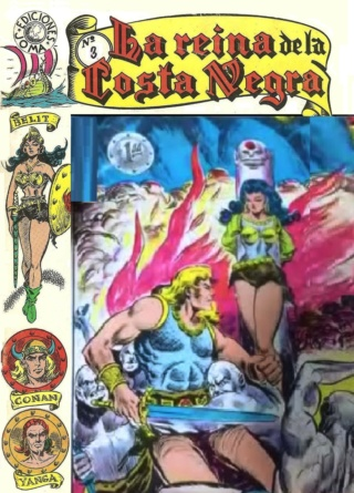 Portadas de las colecciones diversas de Conan Joma_l13