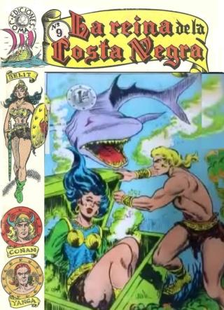 Portadas de las colecciones diversas de Conan Joma_l20