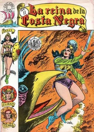 Portadas de las colecciones diversas de Conan Joma_l22
