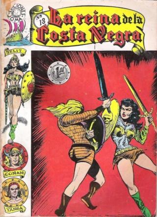 Portadas de las colecciones diversas de Conan Joma_l24