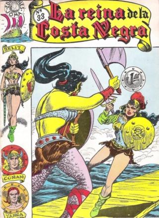 Portadas de las colecciones diversas de Conan Joma_l44