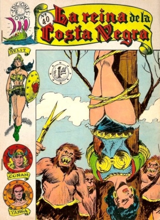 Portadas de las colecciones diversas de Conan Joma_l52