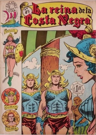 Portadas de las colecciones diversas de Conan Joma_l61