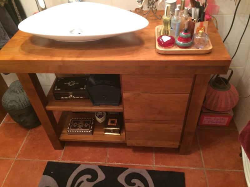 projet meuble salle de bain en poirier ,debut ... Img_2343