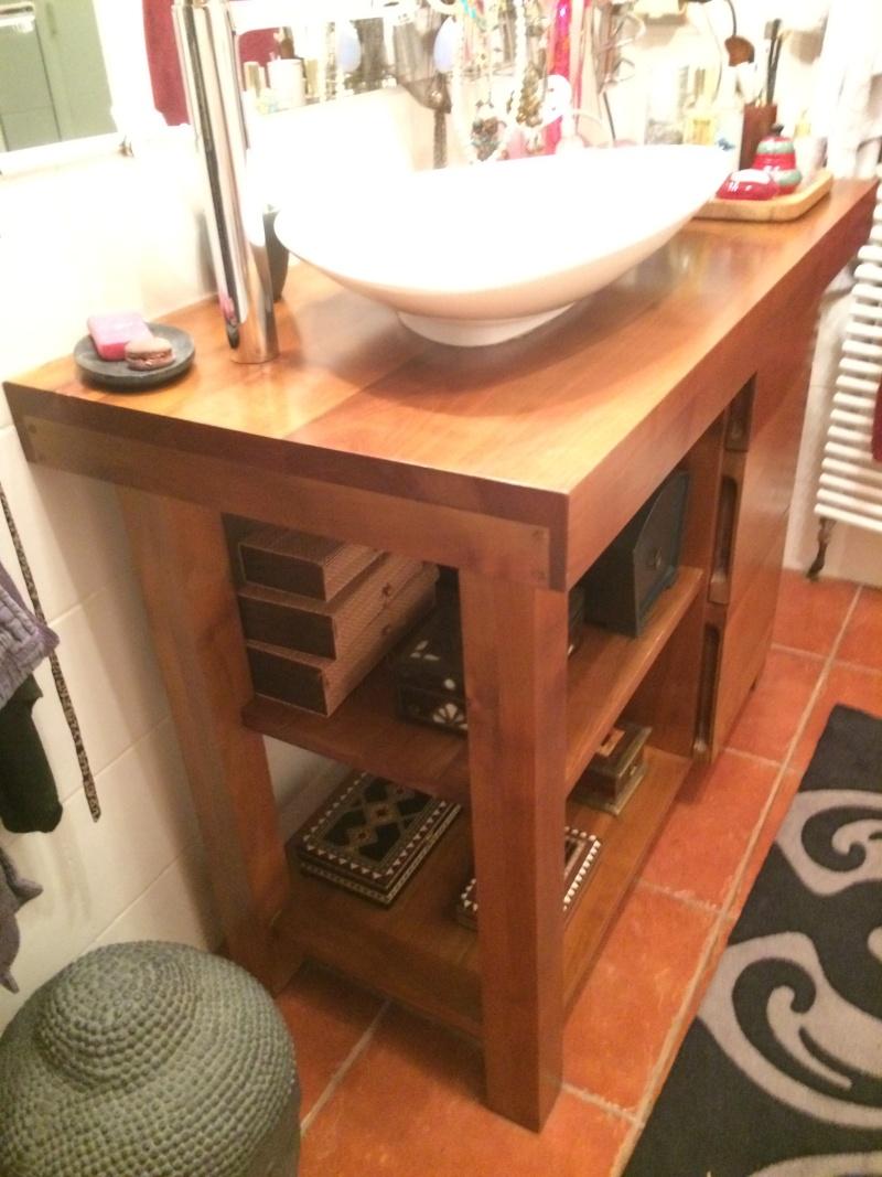 projet meuble salle de bain en poirier ,debut ... Img_2344
