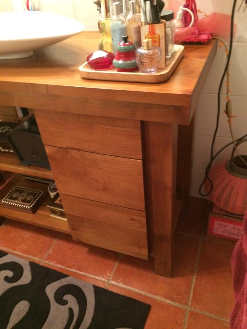 projet meuble salle de bain en poirier ,debut ... Img_2345