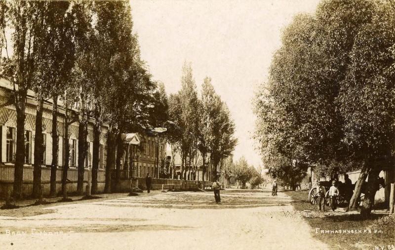 Городня на старых открытках и фотографиях Gimnaz10