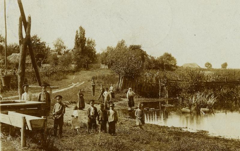 Городня на старых открытках и фотографиях Maximo11