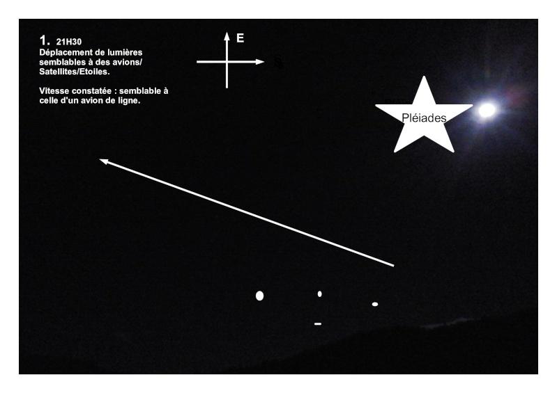 """2015: le 28/10 à 21h30 - """"Déplacements d'étoiles""""Un phénomène ovni insolite -  Ovnis à Col de Jau 1500m - Pyrénées-Orientales (dép.66) - Page 2 Observ10"""
