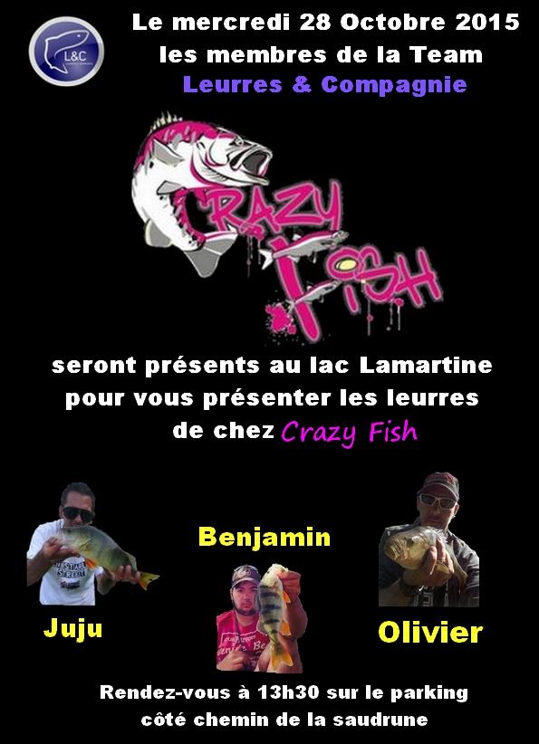 Session découverte Crazy Fish au lac Lamartine . Animat10