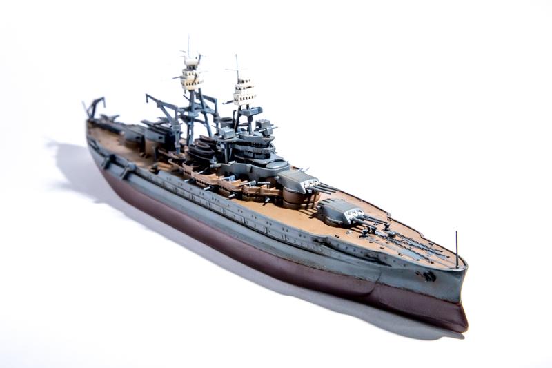 USS ARIZONA Hobby Boss 1/700 Arizon13