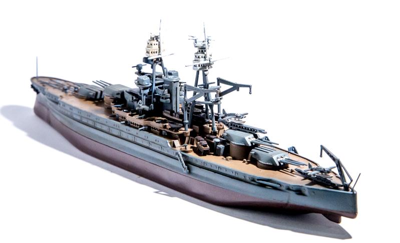 USS ARIZONA Hobby Boss 1/700 Arizon15