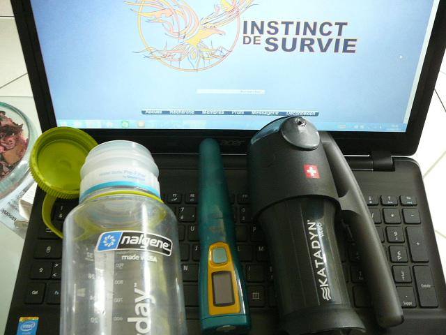 Les différentes techniques pour rendre l'eau potable :  ( nouveautés) P1140410