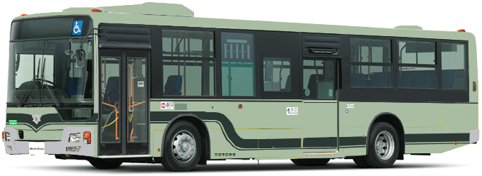 Kyoto City Bus : AO 2015 : Bus de l'année 2016 Mp3810