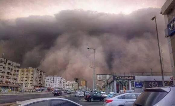 Violents orages sur la Mecque 11014810
