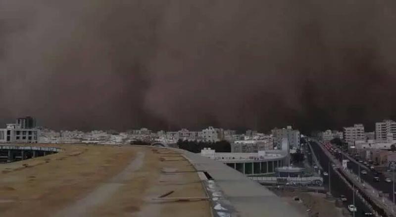 Violents orages sur la Mecque 12002210