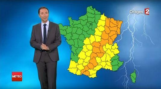France 2 met à pied son « M. Météo », Philippe Verdier 47897310