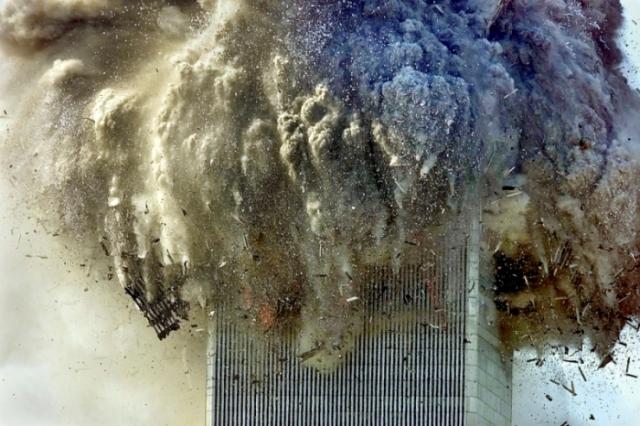 Les deux tours du World Trade Center 14 ans Colaps10