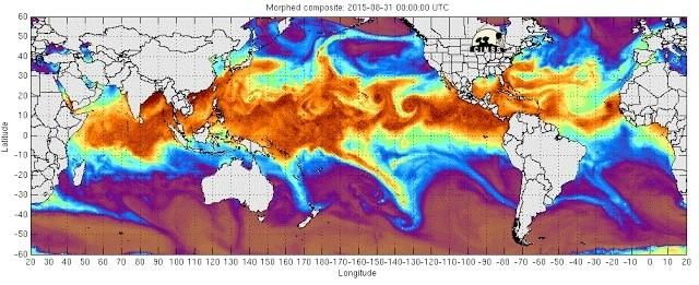 Une étrange et grande impulsion micro-ondes a frappé la Terre  Dcpozp10