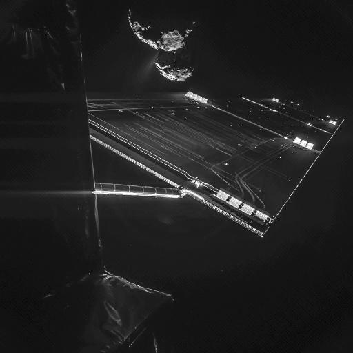 Des images extraordinaires du système solaire Rosett11
