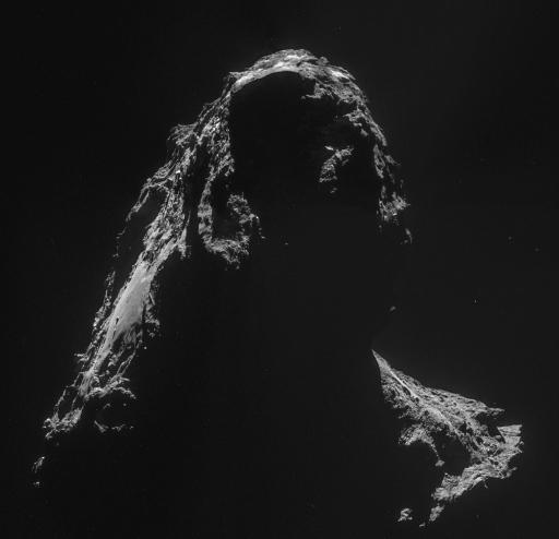 Des images extraordinaires du système solaire Rosett13
