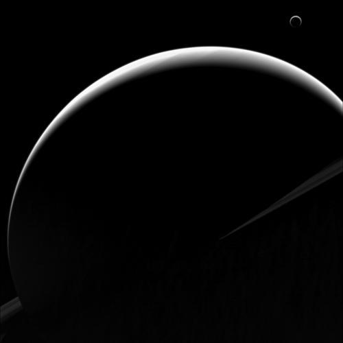 Des images extraordinaires du système solaire Saturn10
