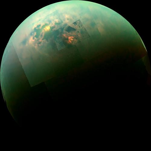 Des images extraordinaires du système solaire Titan_10