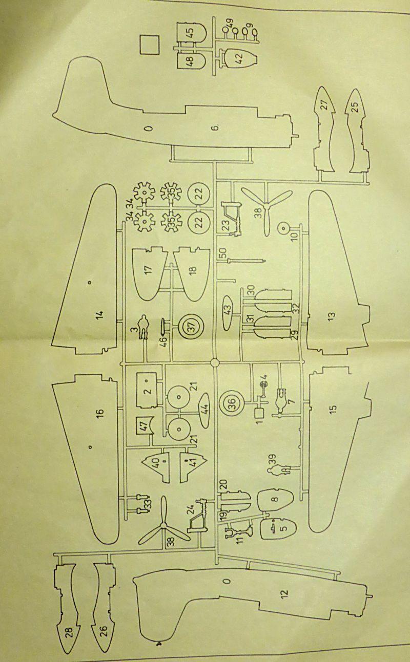 Ouvre-boîte Douglas A-20 C / Boston III [Revell 1/72] A20c-017