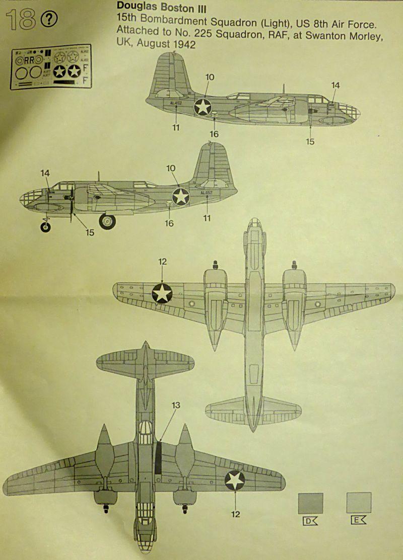 Ouvre-boîte Douglas A-20 C / Boston III [Revell 1/72] A20c-111